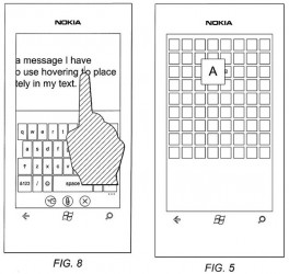 Nokia 3D Touch Patent