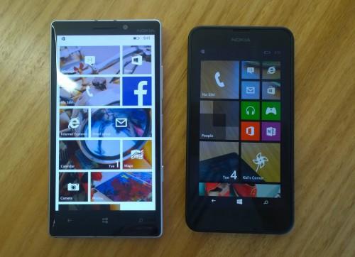 Lumia 930 and Lumia 635
