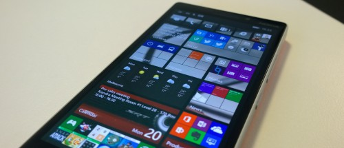 Lumia 930 - Home Screen